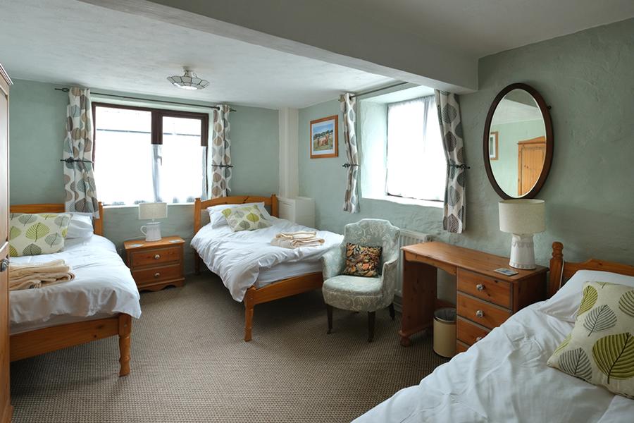 Bracken Cottage Triple Bedroom