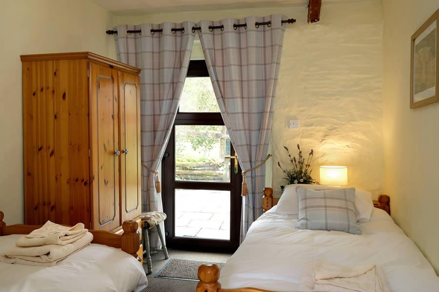 Fern Cottage Twin Bedroom